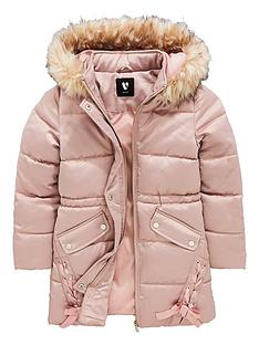 v-by-very-girls-long-line-pink-ribbon-hooded-coat-pink