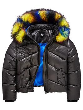 v-by-very-short-padded-multi-faux-fur-hooded-coat