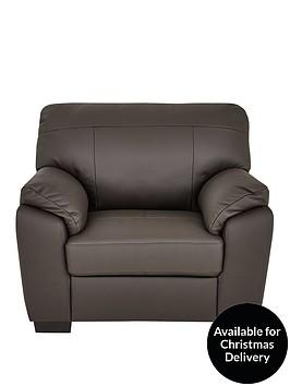 merkle-leatherfaux-leather-armchair