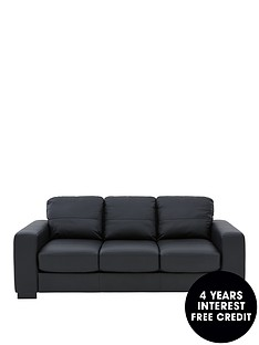 mortonnbspreal-leatherfaux-leather-sofa-bed