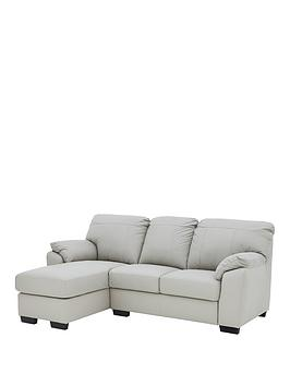 Very Merkle Left Hand 3 Seater Chaise Sofa Picture