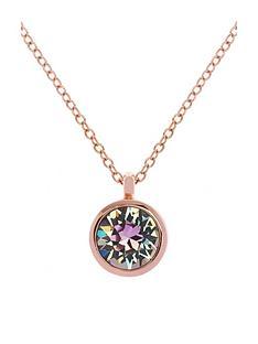 karen-millen-crystal-dot-pendant