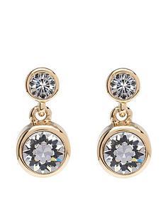 karen-millen-crystal-dot-drop-earrings