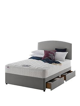 Rest Assured Rest Assured Eton Memory 800 Divan Bed With Storage Options -  ... Picture