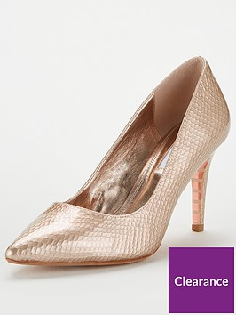 dune-london-anaconda-leather-mid-heel-court-shoe-rose-gold
