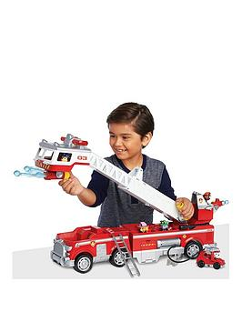 Paw Patrol Paw Patrol Ultimate Rescue Fire Truck Playset Picture