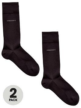 Boss   Bodywear 2 Pack Socks - Black