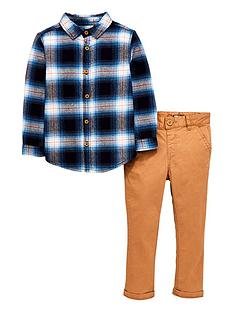 mini-v-by-very-checked-long-sleeve-shirt-and-skinny-fit-chinos--bluebrown