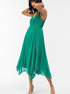 monsoon-silvana-hanky-hem-dress-green