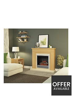 be-modern-stanton-electric-fire-suite-in-natural-oak-with-3-bar-chrome-fret