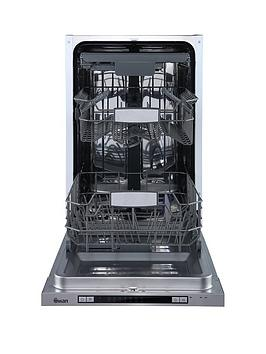 Swan   Sdwb75120 10-Place Integrated Slimline Dishwasher - Stainless Steel