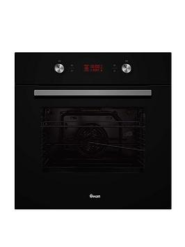 Swan Swan Sxb75250B 60Cm Electric Multifunction Single Oven - Black Glass Picture