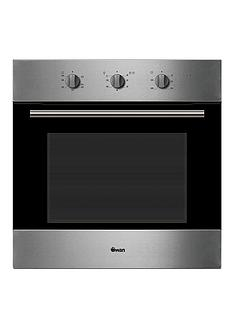 swan-sxb75240b-60cm-gas-single-oven-stainless-steel