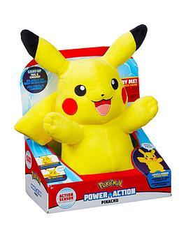 Pokemon Pokemon Power Action Pikachu Picture