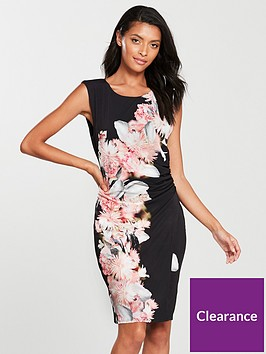 wallis-chrissy-floral-wrap-dress