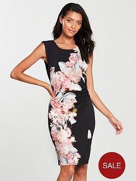 wallis-chrissy-floral-wrap-dress