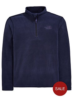 the-north-face-the-north-face-boys-glacier-14-zip-fleece