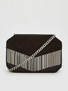 v-by-very-perrie-chain-trim-boxy-bag-black