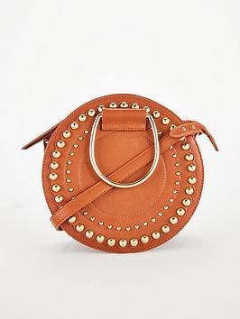 v-by-very-portia-studded-round-bracelet-bag-tan