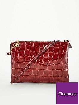 v-by-very-pascal-patent-croc-cross-body-bag-burgundy