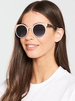 Puma Puma Rectangle Sunglasses - Pink/Black Picture
