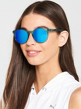 Puma Puma Mirrored Sunglasses - Light Blue Picture