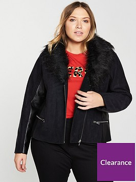v-by-very-curve-pu-panel-coat-with-faux-fur-collar-black