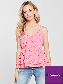river-island-lace-caminbsp--bright-pink