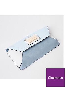 river-island-glitter-envelope-clutch-blue