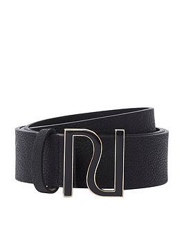river-island-enamel-buckle-belt-black