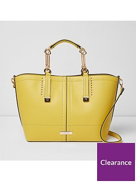 river-island-large-winged-tote-yellow