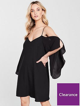 river-island-cold-shoulder-swing-dress-black