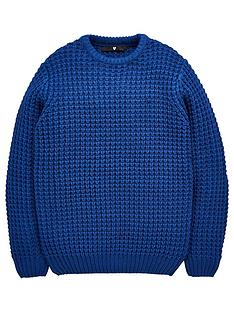 v-by-very-boys-chunky-knitted-jumper-navy