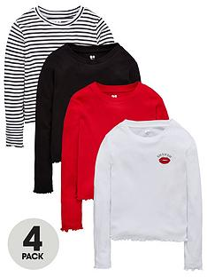 v-by-very-girls-4-pack-long-sleeve-tops