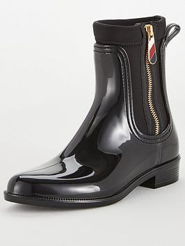 tommy-hilfiger-gloss-ankle-rainnbspboots-black