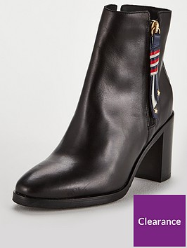 tommy-hilfiger-corporate-tasselnbspmid-heeled-ankle-boots-black
