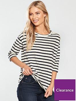 v-by-very-striped-crochet-shoulder-detail-top