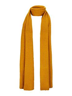 v-by-very-ebonee-plain-ribbed-scarf-mustardnbsp