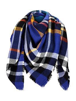 v-by-very-eva-bold-check-blanket-scarf-blue-multi