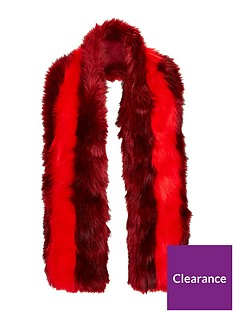 v-by-very-ella-faux-fur-scarf-rednbsp