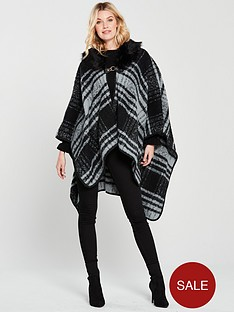 v-by-very-natalie-check-cape-with-detachable-faux-fur-collar-greyblack