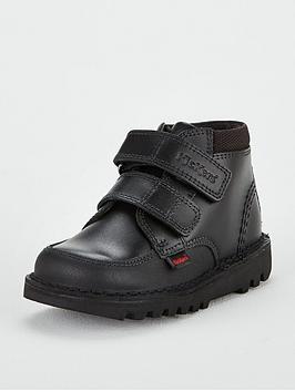 kickers kick scuff hi boot