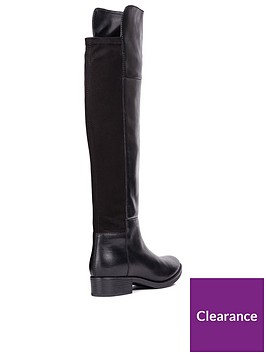 Geox D Felicity G Over The Knee Boot  f2f139cde1b