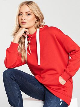 v-by-very-oversized-hoodie-red