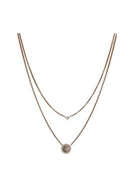 fossil-fossil-rose-gold-tone-amp-grey-mother-of-pearl-stainless-steel-ladies-necklace