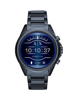 armani-exchange-armani-exchange-blue-ip-stainless-steel-bracelet-display-smartwatch