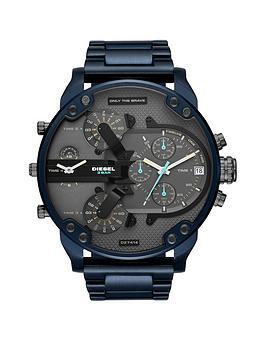 Diesel Diesel Mr Daddy 2.0 Blue Ip Stainless Steel Mens Watch Picture