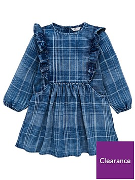 mini-v-by-very-girls-ruffle-check-dress-denim