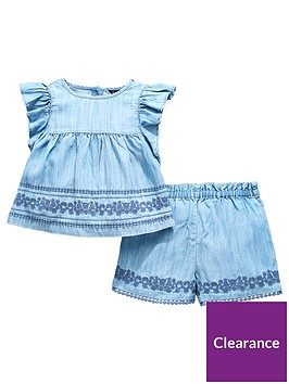mini-v-by-very-embroidered-co-ord-short-set