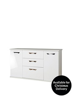swift-neptune-ready-assembled-high-gloss-large-sideboard-whitenbsp10-day-delivery-service
